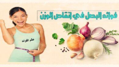 فوائد البصل لانقاص الوزن