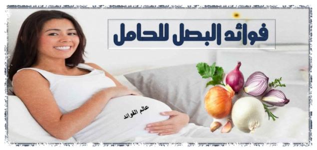 فوائد البصل للحامل