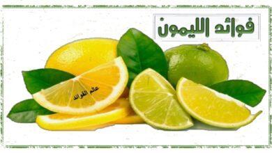 فوائد الليمون الصحية