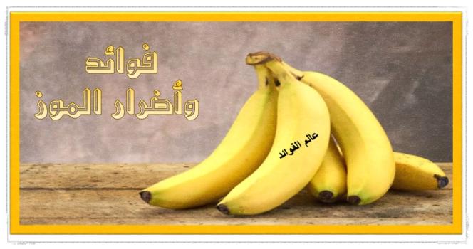 فوائد واضرار الموز على الصحة